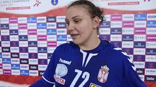 Pivot Dragana Cvijić Nakon Pobede Protiv Slovenije na Svetskom Prvenstvu | SPORT KLUB Rukomet
