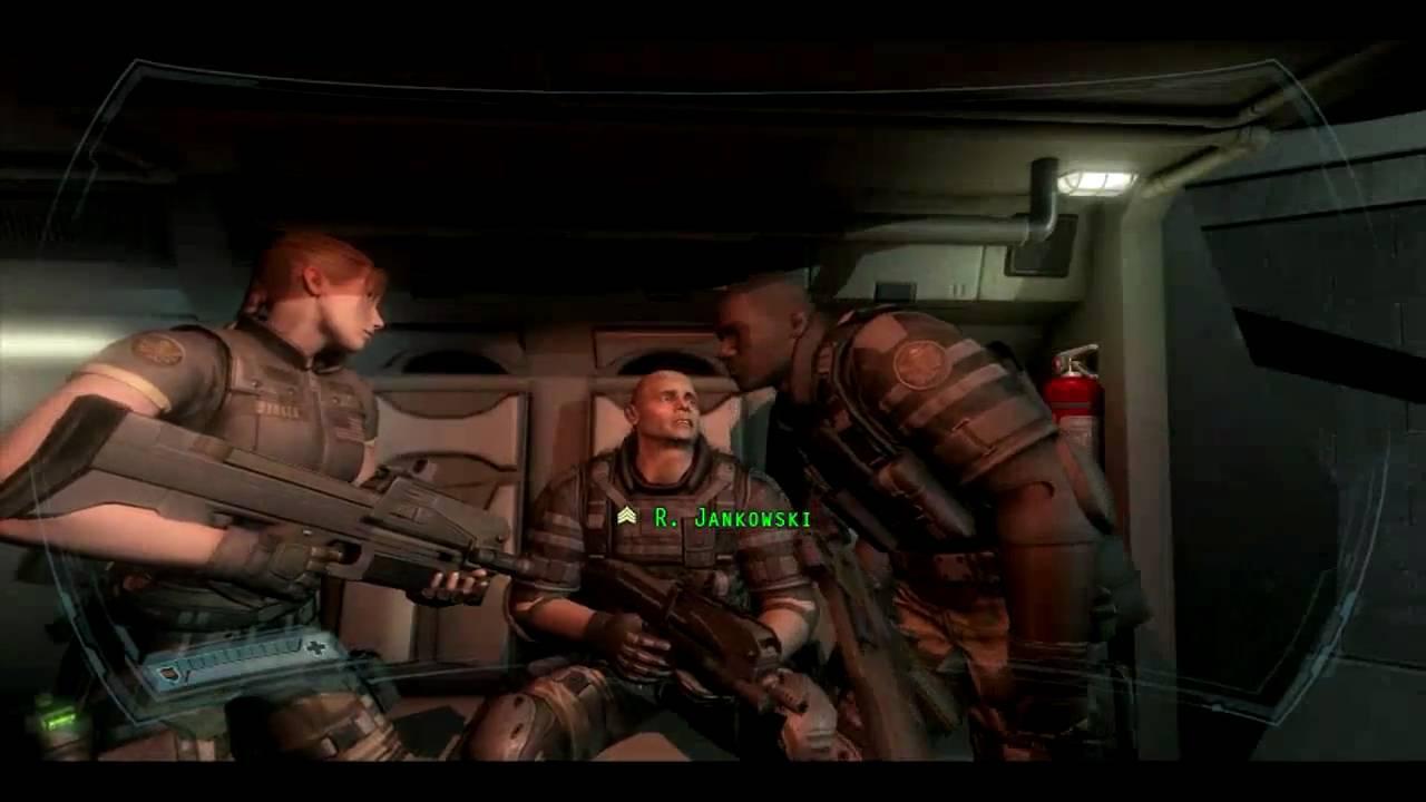 (HD) FEAR 2 Project Origin PC (retail version) Interval 01 Premonition Part  1/4