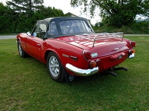 1970 Triumph Spitfire For Sale, Walk a Round Presentation ...