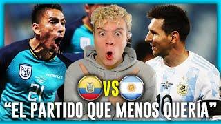 🇦🇷 ARGENTINA vs ECUADOR 🇪🇨 CUARTOS de FINAL 🏆 COPA AMÉRICA 2021 *PREDICCIÓN & PRONÓSTICO