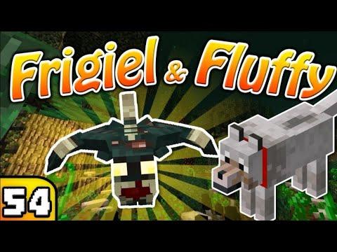 FRIGIEL & FLUFFY : La grotte noyée | Minecraft - S6 Ep.54