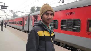 Saptkranti Super Fast Express Started on Bapudham Railway Station in Motihari Bihar