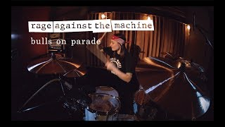 Rage Against The Machine - Bulls on Parade (drum cover by Vicky Fates)