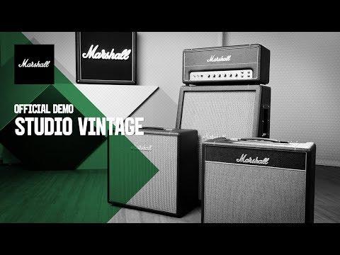 Studio Vintage   Official Demo   Marshall