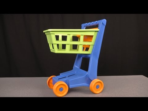 Huge Nesting Shopping Cart From American Plastic Toys