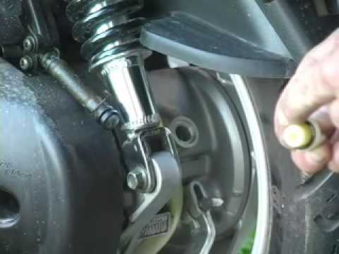 Yamaha Zuma  Oil Change
