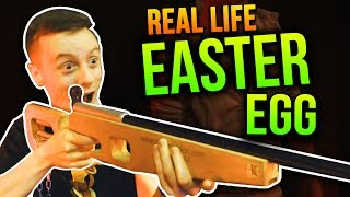 I COMPLETED AN EASTER EGG IN REAL LIFE!!