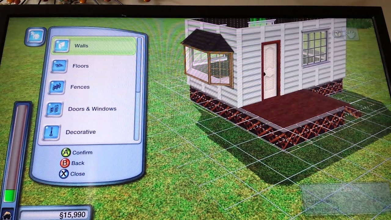 sims 3 xbox 360 3 trailer park youtube. Black Bedroom Furniture Sets. Home Design Ideas