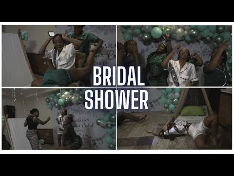 The party got wild real quick| Bridal shower Vlog