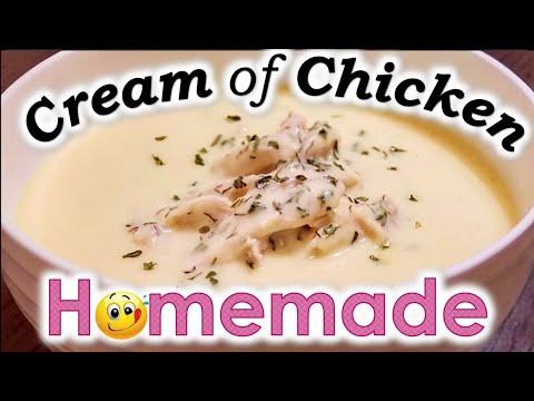 Cream Of Chicken Soup (HOMEMADE)!!! | Condensed Cream Of Chicken COPYCAT Recipe | How To Make Soup