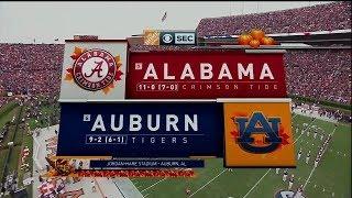 Auburn vs. Alabama 2017