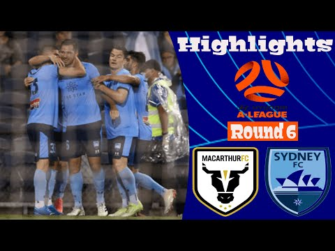 Macarthur FC Sydney Goals And Highlights