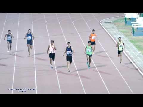 YOUTH BOYS 400m RUN FINAL. 14th NATIONAL YOUTH ATHLETICS CHAMPIONSHIP-2017