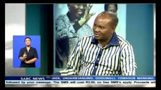 Zolani Mkiva on Madiba