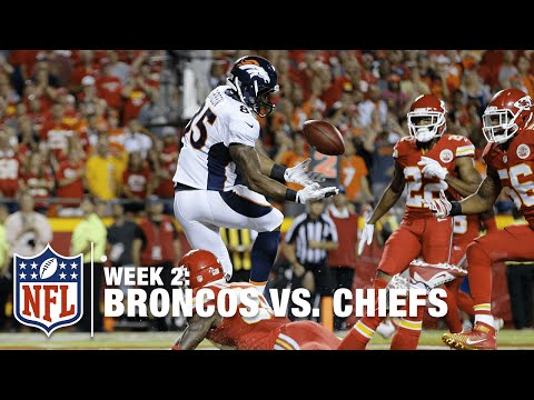 Virgil Green Juggles Peyton Manning TD Pass | Broncos vs. Chiefs | NFL