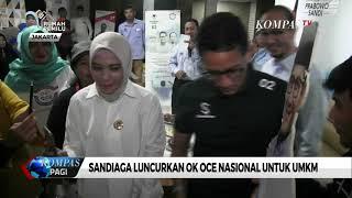 Sandiaga Uno Luncurkan OK OCE Nasional untuk UMKM