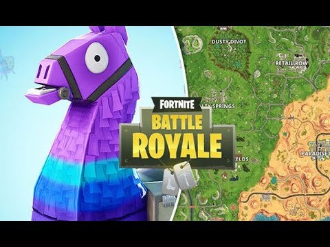 Fortnite Battle Royale season 6 Llamas location Fatal field