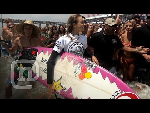 Surf Fans Go Crazy For Alana Blanchard At The US Open Of Surfing Ep. 304