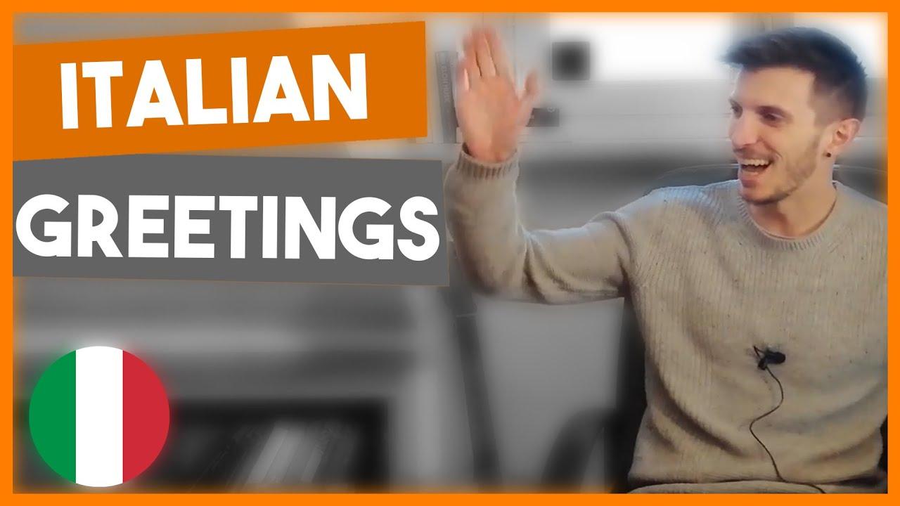 Download How to greet people in Italian (ITA, ENG/ITA Subs)