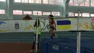 Оксана Окунева 1,86 - Рождествен. старты 2016