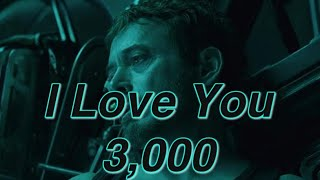I Love You 3,000 Avengers Endgame Line Has a Deeper Meaning!