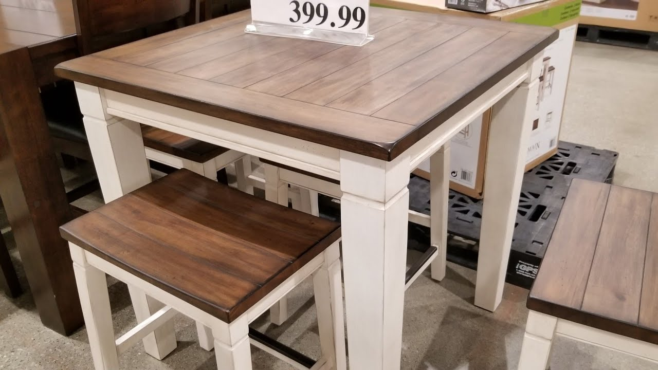 Pike Main 5 Pc Counter Height Dining