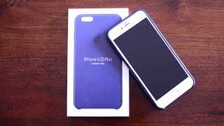Apple iPhone 6s Leather Case - [Review]