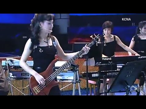 Is North Korean girl band connected to nuclear test?
