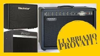 Comparazione Fender Bassbreaker - Blackstar Artsit 30 - Mesa Boogie Rectoverb50