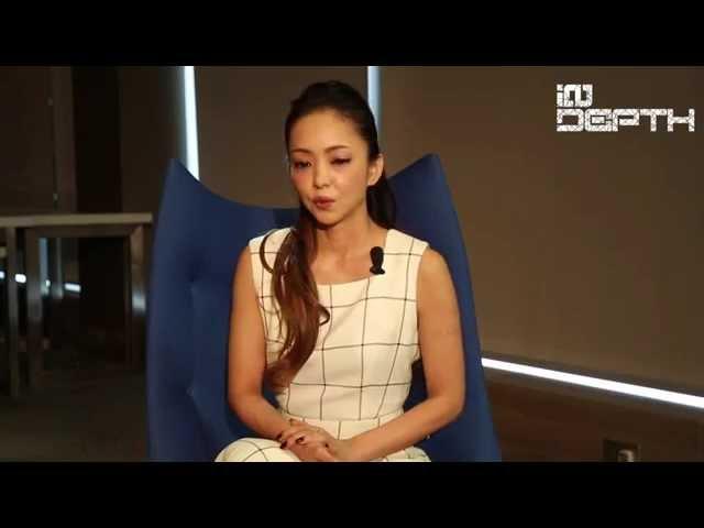 Namie Amuro Interview in Hong Kong 2015 Eng Sub (安室奈美惠專訪 中字)