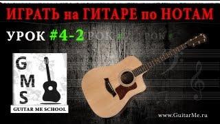 НОТНАЯ ГРАМОТА для гитаристов - Урок 4-2. 8-ые и 16-тые