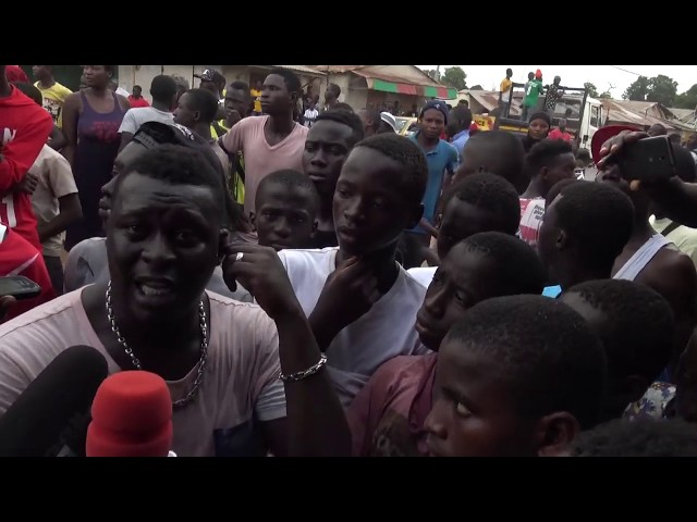 Highlights of the Brikama Protest