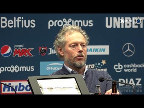 DE PERSCONFERENTIE NA CLUB BRUGGE - STANDARD | 2018-2019