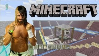 Mustache Minecraft Monday #8 (Seth Rollins of The Shield Entrance + Great Arena Progress)