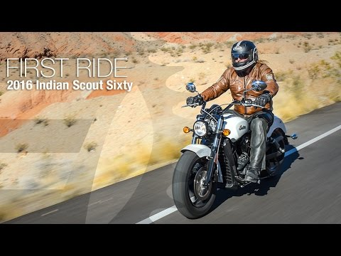 2016 Indian Scout Sixty First Ride - MotoUSA