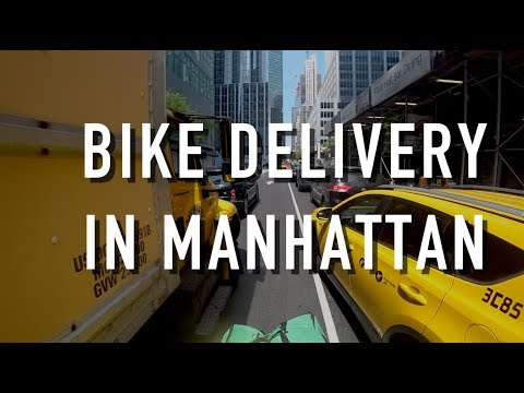 Bike Delivery in Manhattan