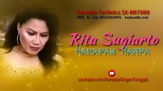 Rita Sugiarto - Harapan Hampa | Karaoke Technics SX-KN7000