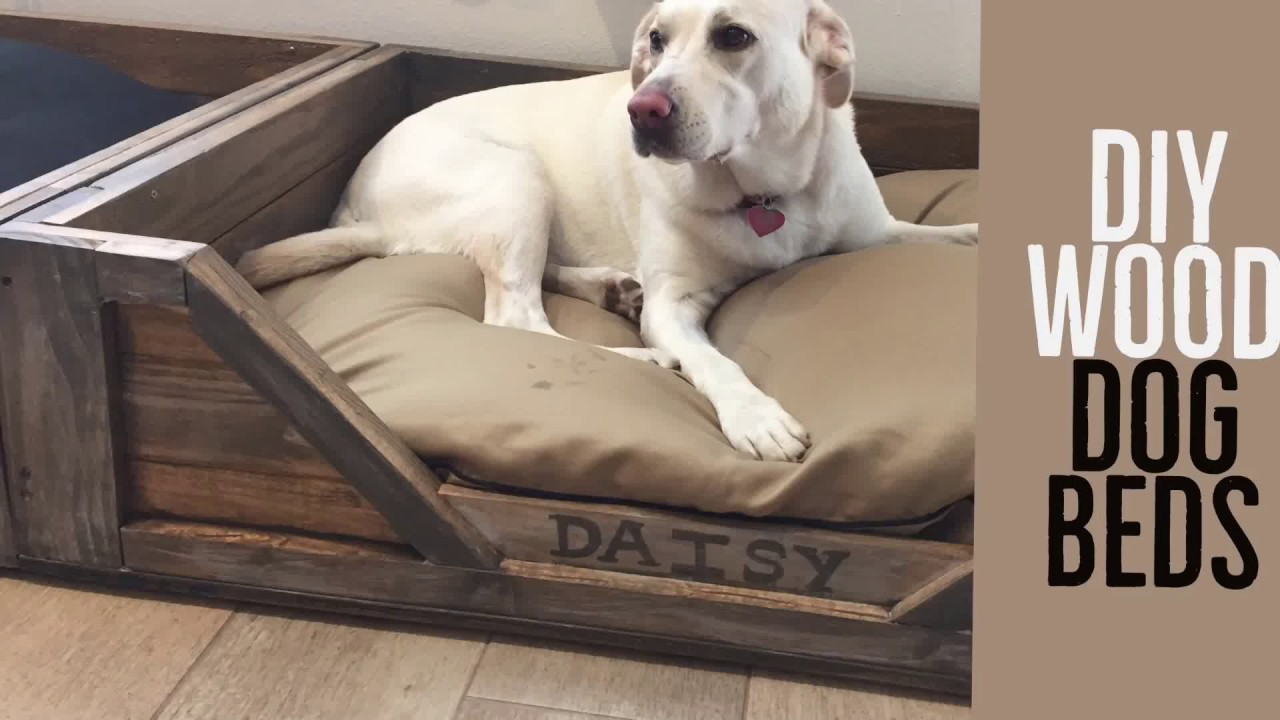 Diy Rustic Wood Dog Beds Your Will Love These By Karen Governale