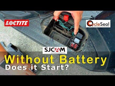 Motorcycle without Battery : Does it start? Aandar ba?