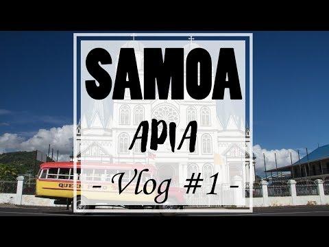 Samoa - Vlog #1 : Apia & Cultural Village