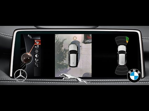 bmw vs jaguar vs mercedes benz surround view 360 camera. Black Bedroom Furniture Sets. Home Design Ideas