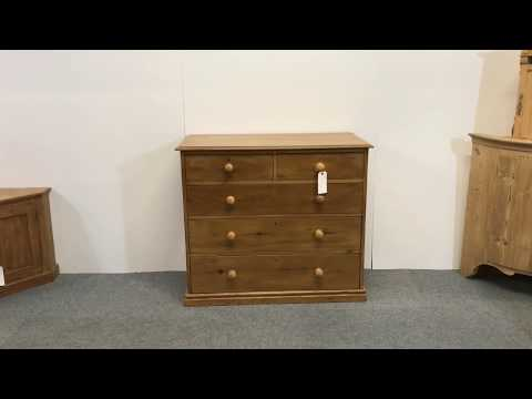 Large Victorian Pine Chest Of Drawers  - Pinefinders Old Pine Furniture Warehouse