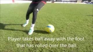 Soccer Skills Lesson: Flip Flap to Forward Step-Over