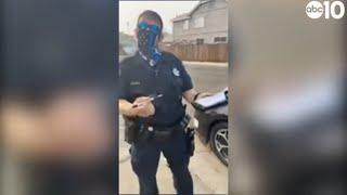 Elk Grove police officer accused of harassing Black teenager   Part 2