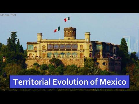 Territorial Evolution of Mexico