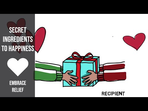 Generosity and Giving: The Secret Ingredient to Happiness and Longevity
