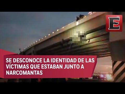 Cuelgan a seis hombres en diferentes puentes de Baja California Sur