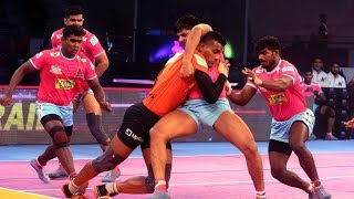 Pro Kabaddi 2018 Highlights | Jaipur Pink Panthers vs U Mumba | Hindi