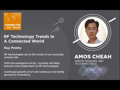 RF Technology Trends in a Connected World   CONNECTED World