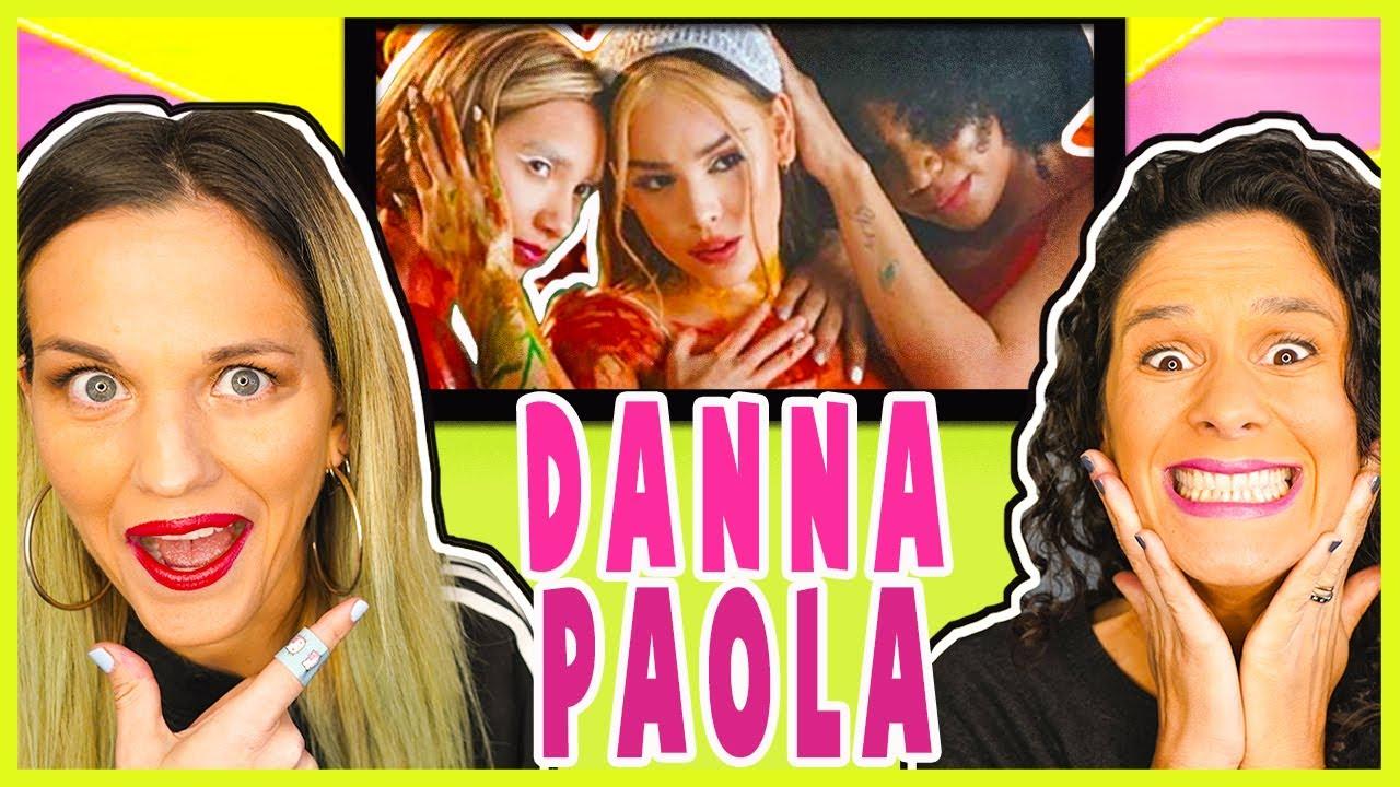 REACCIONANDO A  Danna Paola - TQ Y YA || VALEN Y SOFI